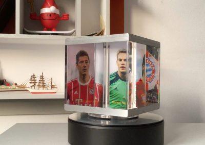 PixCube photo cube with sports photos