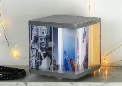 PixCube photo cube with Bhudda images